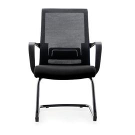 Кресло для посетителей Norden Интер CF / черная краска / черная сетка / черная ткань, изображение 3