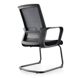 Кресло для посетителей Norden Интер CF / черная краска / черная сетка / черная ткань, изображение 5