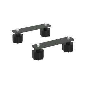 Соединительные элементы стола складного мобильного СЭ 130х30х3 Антрацит