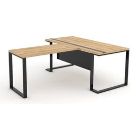 Стол руководителя Зета Officio 202061-05 2000x900x750, изображение 8