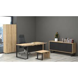 Стол руководителя Зета Officio 202061-05 2000x900x750, изображение 5