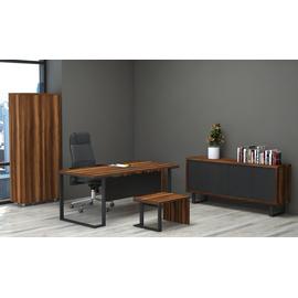 Стол руководителя Зета Officio 202061-05 2000x900x750, изображение 6