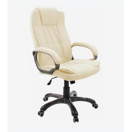 Компьютерное кресло для руководителя Dikline CS55 крем, Цвет товара: кремовый