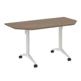 Стол прямой письменный складной мобильный X-Pull Riva X.M-7.T1 Дуб Аризона/Белый 1440х720х753, Цвет товара: Дуб Аризона