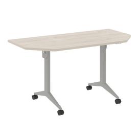 Стол прямой письменный складной мобильный X-Pull Riva X.M-7.T1 Денвер Светлый/Серый 1440х720х753, Цвет товара: Денвер светлый