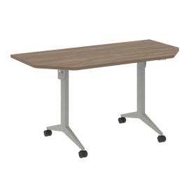 Стол прямой письменный складной мобильный X-Pull Riva X.M-7.T1 Дуб Аризона/Серый 1440х720х753, Цвет товара: Дуб Аризона
