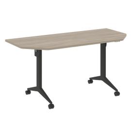Стол прямой письменный складной мобильный X-Pull Riva X.M-7.T2 Дуб Аттик/Антацит 1580х720х753, Цвет товара: Дуб Аттик