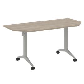 Стол прямой письменный складной мобильный X-Pull Riva X.M-7.T2 Дуб Аттик/Серый 1580х720х753, Цвет товара: Дуб Аттик