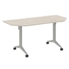 Стол прямой письменный складной мобильный X-Pull Riva X.M-7.T2 Денвер Светлый/Серый 1580х720х753, Цвет товара: Денвер светлый
