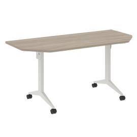 Стол прямой письменный складной мобильный X-Pull Riva X.M-7.T2 Дуб Аттик/Белый 1580х720х753, Цвет товара: Дуб Аттик