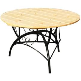 Садовый стол  Круглый  1