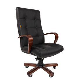 Компьютерное кресло для руководителя Chairman 424 WD Чёрное