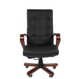 Компьютерное кресло для руководителя Chairman 424 WD Чёрное, изображение 2