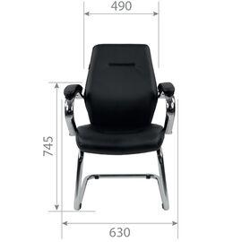 Конференц кресло Chairman 495 Чёрный, изображение 4