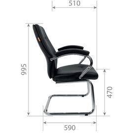 Конференц кресло Chairman 495 Чёрный, изображение 5