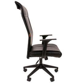 Компьютерное кресло для руководителя Chairman 510 Чёрное, изображение 3
