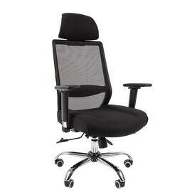 Компьютерное кресло для руководителя Chairman 555 LUX Чёрный