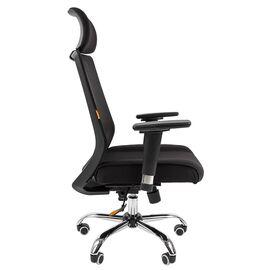 Компьютерное кресло для руководителя Chairman 555 LUX Чёрный, изображение 3