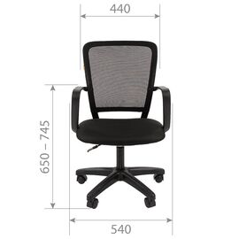 Компьютерное кресло Chairman 698LT Синий, Цвет товара: Синий, изображение 4