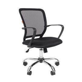 Компьютерное кресло для руководителя Chairman 698 CHROME Черный, Цвет товара: Черный