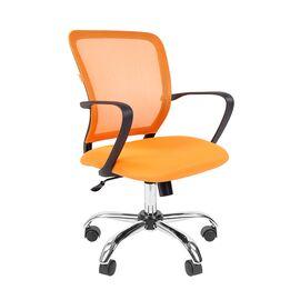 Компьютерное кресло для руководителя Chairman 698 CHROME Оранжевый, Цвет товара: Оранжевый