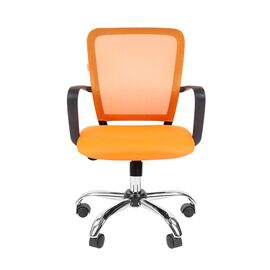Компьютерное кресло для руководителя Chairman 698 CHROME Оранжевый, Цвет товара: Оранжевый, изображение 2