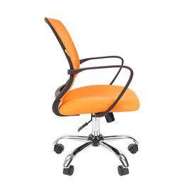 Компьютерное кресло для руководителя Chairman 698 CHROME Оранжевый, Цвет товара: Оранжевый, изображение 3