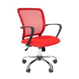 Компьютерное кресло для руководителя Chairman 698 CHROME Красный, Цвет товара: Красный
