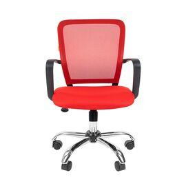 Компьютерное кресло для руководителя Chairman 698 CHROME Красный, Цвет товара: Красный, изображение 4