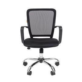 Компьютерное кресло для руководителя Chairman 698 CHROME Черный, Цвет товара: Черный, изображение 2