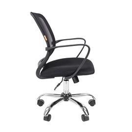 Компьютерное кресло для руководителя Chairman 698 CHROME Черный, Цвет товара: Черный, изображение 3