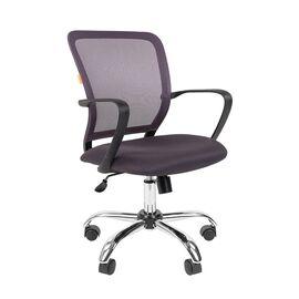 Компьютерное кресло для руководителя Chairman 698 CHROME Серый, Цвет товара: Серый