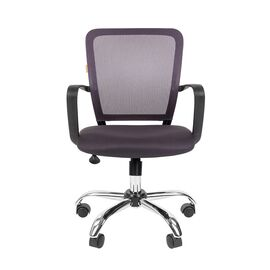 Компьютерное кресло для руководителя Chairman 698 CHROME Серый, Цвет товара: Серый, изображение 2