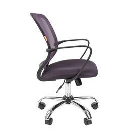 Компьютерное кресло для руководителя Chairman 698 CHROME Серый, Цвет товара: Серый, изображение 3