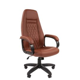Компьютерное кресло для руководителя Chairman 950LT Коричневый, Цвет товара: Коричневый