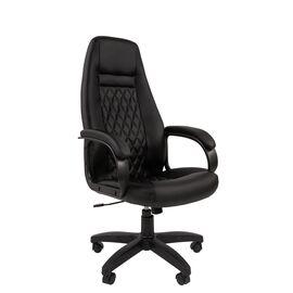 Компьютерное кресло для руководителя Chairman 950LT Чёрный, Цвет товара: Черный