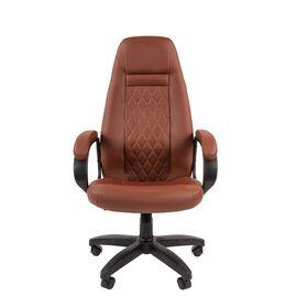 Компьютерное кресло для руководителя Chairman 950LT Коричневый, Цвет товара: Коричневый, изображение 2