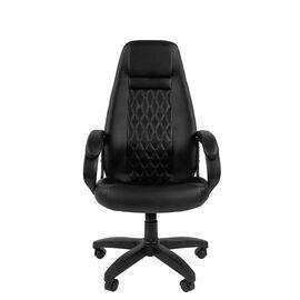 Компьютерное кресло для руководителя Chairman 950LT Чёрный, Цвет товара: Черный, изображение 2
