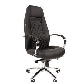 Компьютерное кресло для руководителя Chairman 950 Чёрный