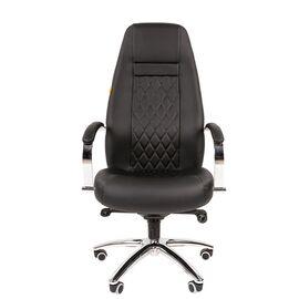Компьютерное кресло для руководителя Chairman 950 Чёрный, изображение 2