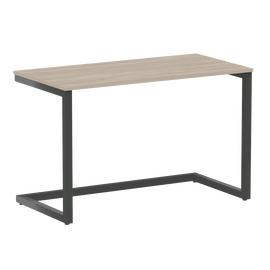 Стол приставной рабочий для ноутбука Home Office Riva VR.SP-2-118 Дуб Аттик / Антрацит мет. 1180х600х750, Цвет товара: Дуб Аттик / Антрацит мет.