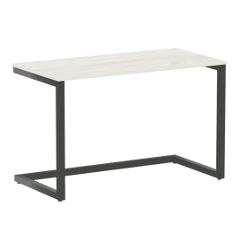Стол приставной рабочий для ноутбука Home Office Riva VR.SP-2-118 Дуб Наварра / Антрацит мет. 1180х600х750, Цвет товара: Дуб Наварра / Антрацит мет.