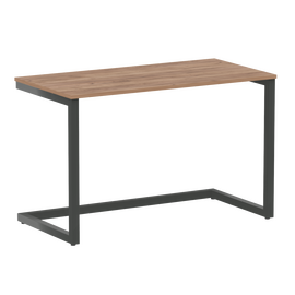Стол приставной рабочий для ноутбука Home Office Riva VR.SP-2-118  Дуб Табак  / Антрацит мет. 1180х600х750, Цвет товара: Дуб Табак/ Антрацит мет.