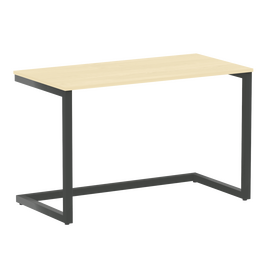 Стол приставной рабочий для ноутбука Home Office Riva VR.SP-2-118 Клен / Антрацит мет. 1180х600х750, Цвет товара: Клен / Антрацит мет.