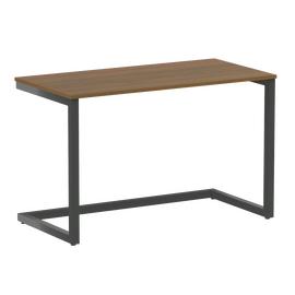 Стол приставной рабочий для ноутбука Home Office Riva VR.SP-2-118 Орех Гварнери / Антрацит мет. 1180х600х750, Цвет товара: Орех Гварнери / Антрацит мет.