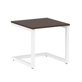 Стол журнальный Home Office Riva VR.SP-2-58G Венге  / Белый мет. 580*600*550, Цвет товара: Венге / Белый мет.