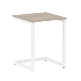 Стол приставной для ноутбука Home Office Riva VR.SP-2-58 Дуб Аттик / Белый мет. 580*600*750, Цвет товара: Дуб Аттик / Белый мет., изображение 2