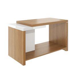 Стол журнальный ASTI AS-1.13 1000х500х600 Дуб сантана/Белый, Цвет товара: Дуб Сантана