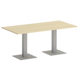 Стол прямоугольный  Home Office Riva VR.SP-5-180.2 Клен / Серый мет.1800х900х750