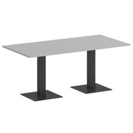 Стол прямоугольный  Home Office Riva VR.SP-5-180.2 Серый / Антрацит мет. 1800х900х750